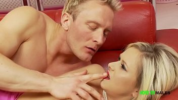 Blonde muscled British hunk Clarke Kent fucks Blonde Anna Joy