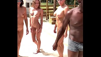 Triple blowjob by Clea Gaultier, Anna Polina and Angel Emily - MySexMobile
