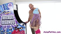Asian Gets Her Games By Fucking- Vina Sky
