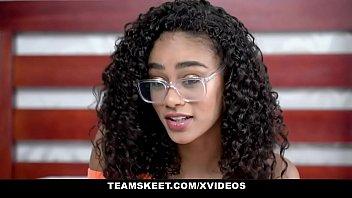 TeenyBlack - Gorgeous Tiny Black Girl Scarlit Scandal Gets Fucked Hardcore By BWC Stud