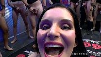 Lucia denville shows gangbang cums and facials