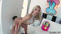 NYMPHO Deep inside stunning blonde Sloan Harper 12 min