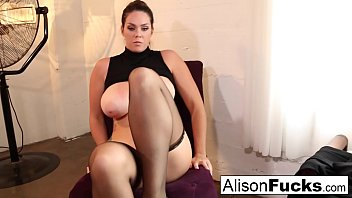 Busty Cop gets hypnotized by a pervy Alison Tyler 7 min