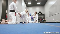 Cum Pao Ft Olivia Grey, Abigail Peach, Bella Rolland