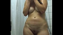 Hidden cam Dutch girl showering