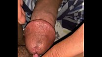 Massaging Slutty Clit with Dick