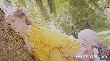 Private.com - French Aristocrat Tiffany Tatum Fucked Outdoor