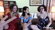 What's Better Then 2 Hot Amateur Lesbians? How About 3!