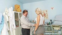 Mature Romana has old pussy gyno speculum examined