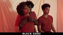 BlackGodz - Derek Cline Gets Barebacked By A Black God