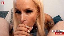 German MILF Sophie Logan FUCKS her loyal FAN! (English) WHOLE SCENE → sophie.erotik.com FREE