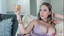 Mom Jumps On Son's Cock At The First Chance- Kagney Linn Karter