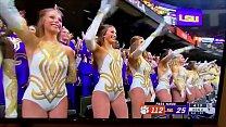 LSU 2020 National Championship cheerleader pussy