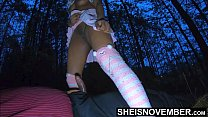 My Horny Step Dad Made Me Ride His Dick In The Woods, After A Fight With My Mother, Hot Ebony Step Daughter Msnovember Hardcore Riding Step Dad On The Grass Outside on Sheisnovember 6 min