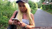 Deutsche Blonde amateur teen hat outdoor Usertreffen und er kann sie nicht in den Arsch ficken