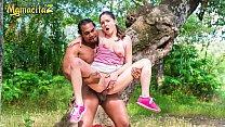 MAMACITAZ - Big Ass Francesca Di Caprio Took Off Her Clothes And Fucks In The Woods