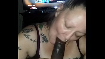 Getting some head from the wifey while I'm on Xbox Live.