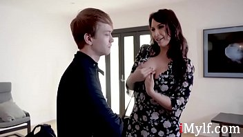 Latina Mom Blackmails Son To Fuck Him- Ivy Labelle