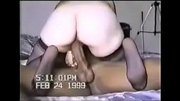 vintage horny wife fucks bbc cuckold creamy riding hard