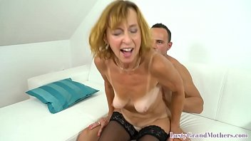 Smalltits gilf sucking young lovers dick 6 min