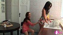 Seduced by Two Lesbian Milfs - Viv Thomas HD 6 min