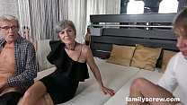 Swinger Family Cums by the Club 10 min