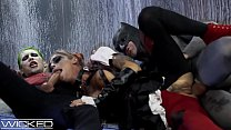 Harley Quinn Fucks Joker & Batman
