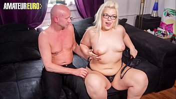AMATEUR EURO - Hot BBW Teen Mariella Sun Gets Hard Pounded On Cam By Her Daddy BF
