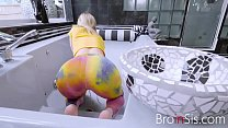 Blonde Busty Sister Is Fed Up Chores & Wants Some Cock- Daisy Stone