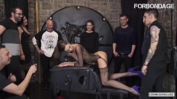 FORBONDAGE - Xtreme BDSM Fetish Fuck For Big Tits Brunette MILF Tina Kay