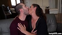 Hot stud John Price is attracted to his granny neighbor Mariana and fucks her mature pussy like a young stallion he is. 6 min