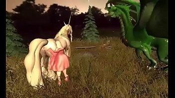The europeon green dragon