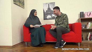Hot muslim wife gets fucked hard 8 min