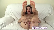 She begs YOU to fuck her ass and creampie her pussy - Lelu Love