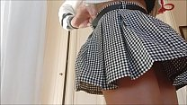 my beautiful legs ... I open them and show you everything by lifting my skirt