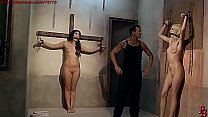Slave Girl Bijou collected, trained, tormented for auction. Part 2.
