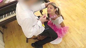 Gina Gerson Part 1 - Her most PERVERT vid - Schoolgirl VS Teacher www.sloppyteens.com