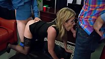 Mom Getting Fucked By Stepson And Dad making her slut of house - Cory Chase
