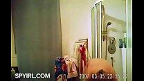 Small Tits Blonde after Shower-Hidden Cam Clip