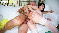 AMATEUR EURO - Romanian MILF Paola Diamante Tries Her Luck With Anal Sex On Casting Couch