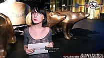 Deutsche Studentin abschleppen bei EroCom Date in Berlin öffentliches Casting