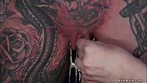 Alt submissive lesbian gets anal fucked