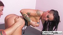 Hot Old Style Gonzo With Sexy Christy Mack