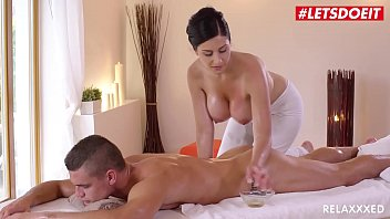LETSDOEIT - Czech MILF Takes Young Big Cock On Hot Massage Sex (Alex Black & Max Dior) 11 min