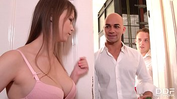 Alysa and Beata Undine have their holes gaped in hardcore dp group sex orgy 13 min