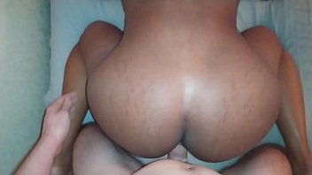 Interracial POV For Tinder Ebony With Perfect Ass