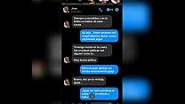 Screenshots Messenger entre la zorra de mi madre y su ex-compañero de escuela.