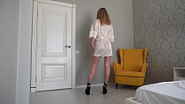 Look at me and jerk off at me. Eye contact of a hot Russian Milf 6 min