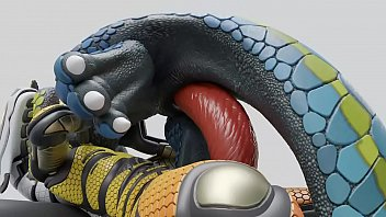 Yiff Lizard and Robot - dzat