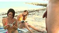 BRANDI BELLE - My Friends And I Getting Kinky On The Beach 11 min